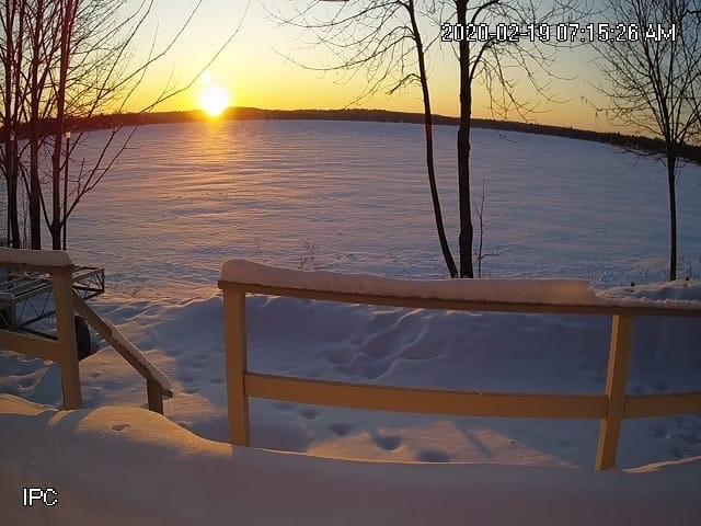 Mudhen Lake in Winter